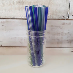 Glass Straws, Pure and Beautiful