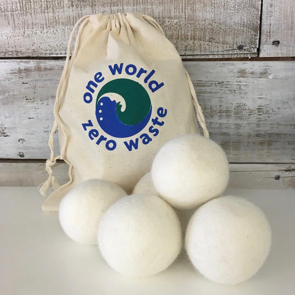 Organic Wool Dryer Balls, Helps Your Clothes