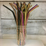 XL Bent Stainless Steel Straws