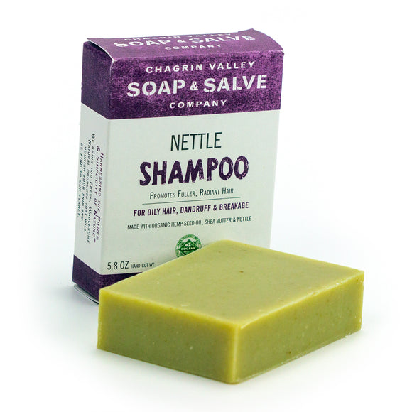 Shampoo Bar for oily, dandruff hair- Nettle