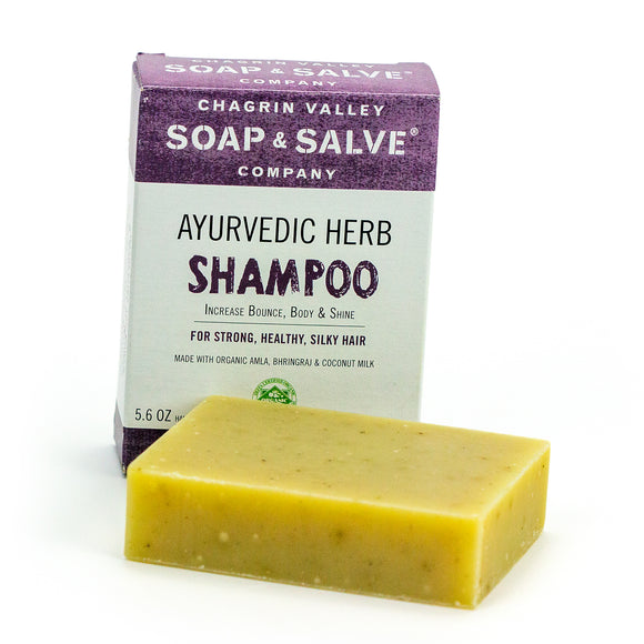 Shampoo Bar for thin hair- Ayurvedic Herb