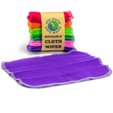 Reusable Cloth Wipes for the Little Messes