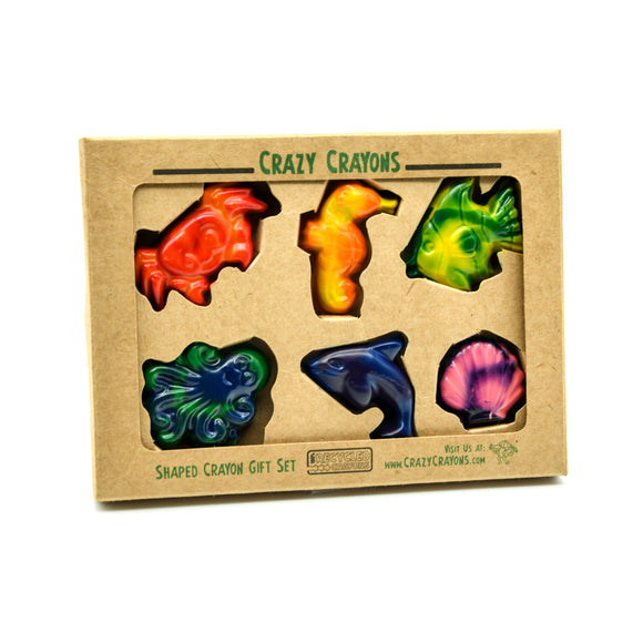 Recycled Sea Creature Crayons