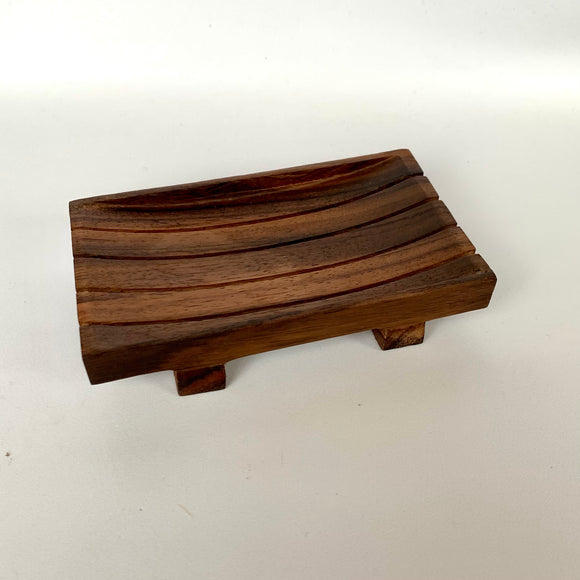 Hard Wood Soap Dish