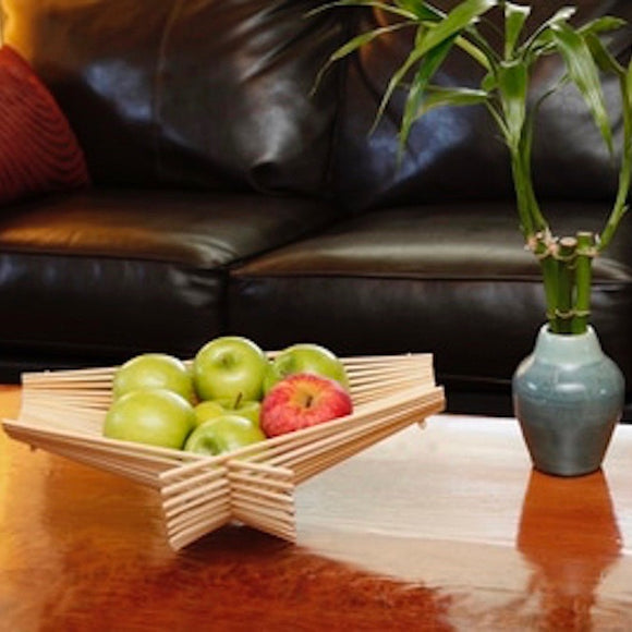 Bamboo Chopstick Folding Basket