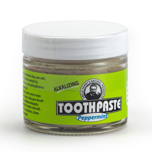 Toothpaste in Glass Jar