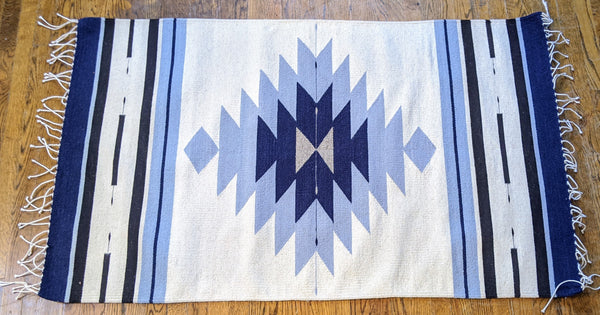 Handwoven Zapotec Accent Rug