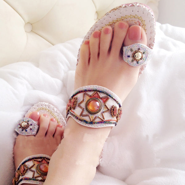 High quality beautiful eyes of new diamond decorations Fashion sandals ripper sandals