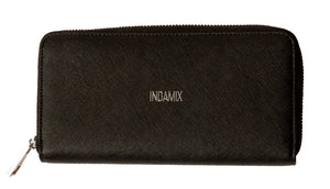 Saffiano Leather Indamix Wristlet