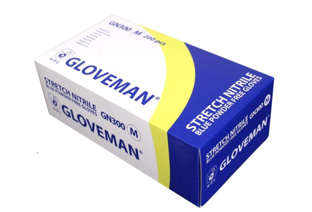 Gloveman Nitrile Gloves (Pack of x 200 )