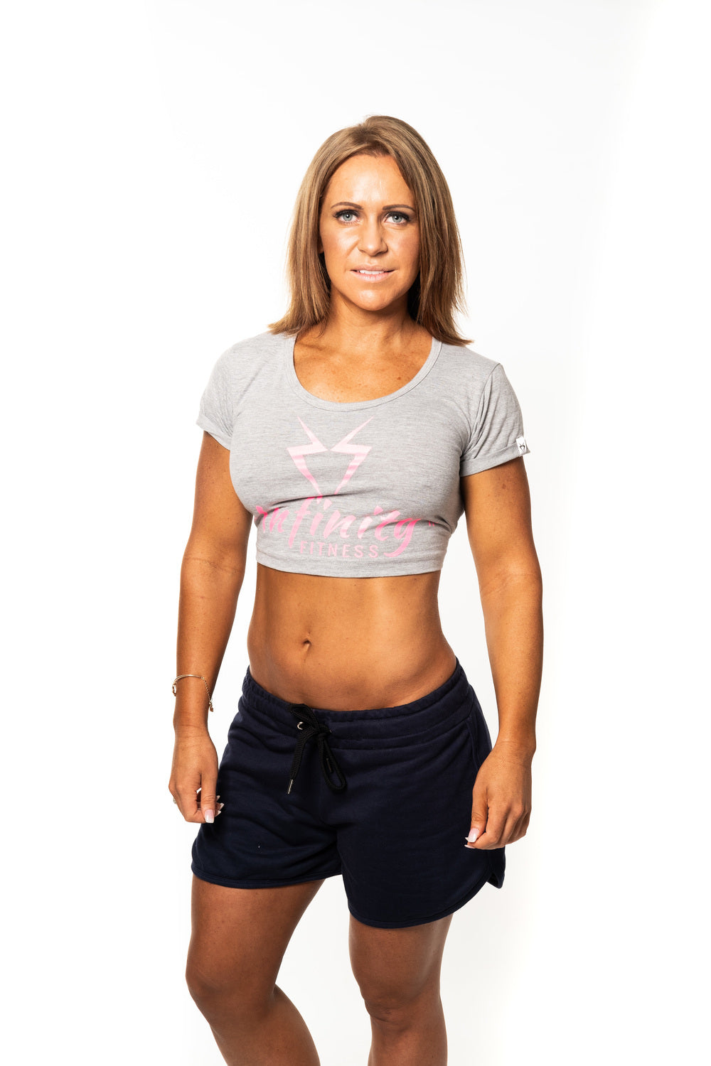 Ladies Cropped T shirt