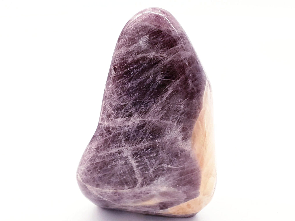 Purple Anhydrite Trillion Freeform