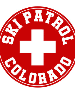 Colorado Ski Patrol Sticker