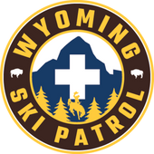 Wyoming Ski Patrol Sticker