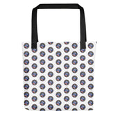 Colorado Ski Patrol Polka Dot Tote bag