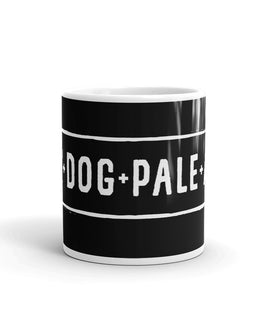 Avy Dog Black Mug