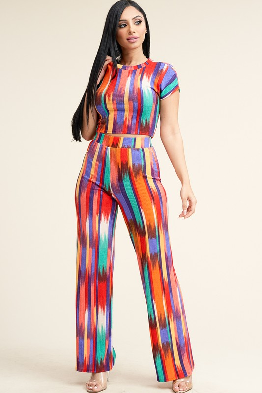 Antenna Print  Two Piece Set