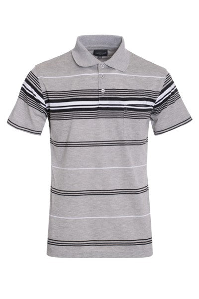 Men's Stripe Polo