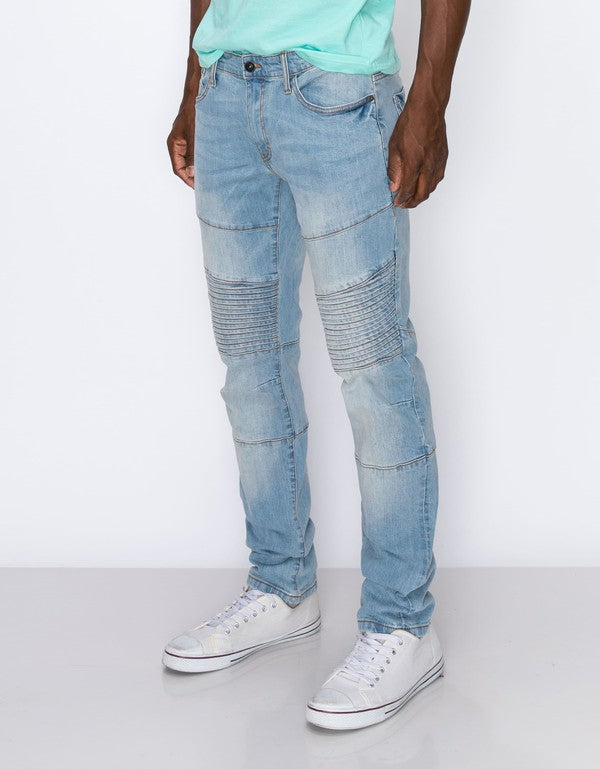 Men's Thrill Moto Slim Jeans