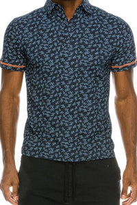 MEN'S Print Polo Shirt
