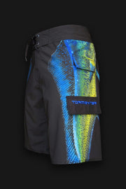 "4x4 Board Shorts - ""Side To"" - Mahi - Tormenter Ocean Fishing Gear Apparel Boating SPF Surfing Watersports"