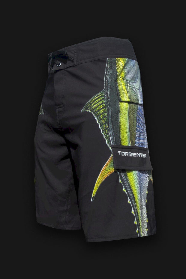 "4x4 Board Shorts - ""Side To"" - Tuna - Tormenter Ocean Fishing Gear Apparel Boating SPF Surfing Watersports"