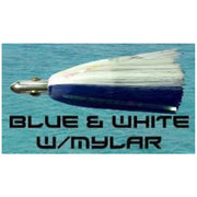 Dredge Witch - Blue & White Dredge Baits Tormentor Ocean Fishing Gear