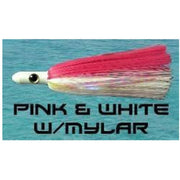 Dredge Witch - Pink & White Dredge Baits Tormentor Ocean Fishing Gear