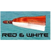 Dredge Witch - Red & White Dredge Baits Tormentor Ocean Fishing Gear