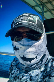 Gray Camo Baseball Hat Head Gear Tormenter Ocean