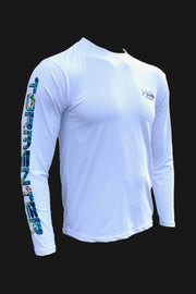 Key Largo Series - Electrified Mahi Long Sleeve Performance Shirt Men's SPF Ocean Fishing Tops Tormenter Ocean