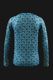 Ladies Performance Shirt - Bermuda Collection Ladies Printed SPF Tops Tormenter Ocean