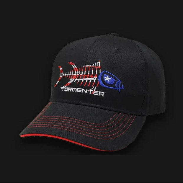 Patriot Baseball Hat Head Gear Tormenter Ocean