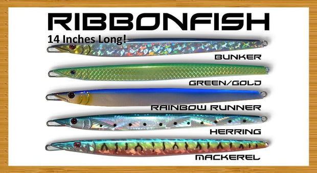 Ribbonfish Jig Vertical Jigs Tormenter Ocean