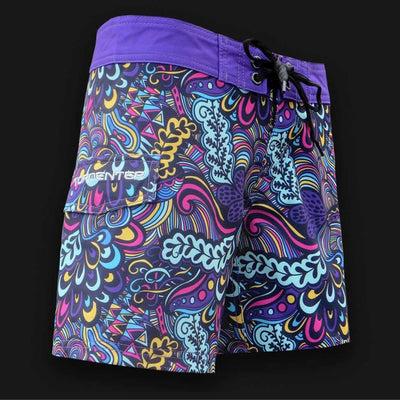 "Tormenter Women's 8 Way Stretch 6"" Board Shorts - Reef Ladies Board Shorts Tormenter Ocean 0"