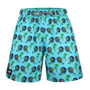 "Volley ""Mai Tai"" Swim Shorts - Surfing Tikis Volley Swim Shorts Tormenter Ocean"