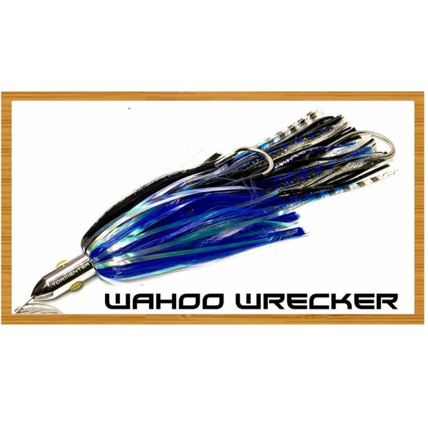 Wahoo Wrecker Chromed & Aluminum Trolling Lures Tormenter Ocean Fishing Gear