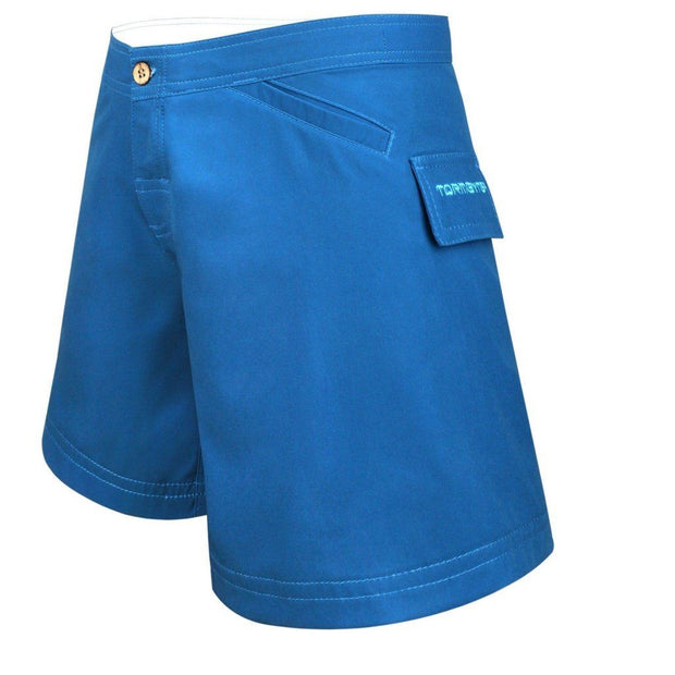 Women's Bermuda Series Yachting Shorts - Aqua Marine Women's board shorts Tormenter Ocean
