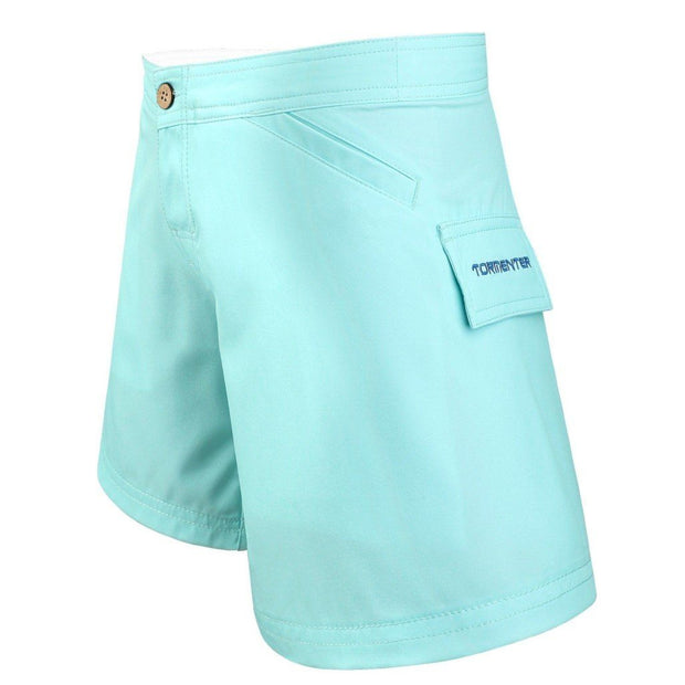 Women's Bermuda Series Yachting Shorts - Seafoam Women's board shorts Tormenter Ocean