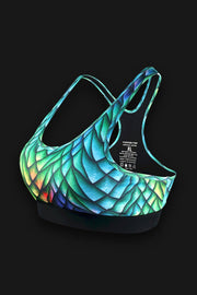 Cabo Sunset Mermaid Sports Bra - Tormenter Ocean Fishing Gear Apparel Boating SPF Surfing Watersports