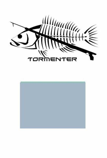 Grouper Light Blue Performance Fishing Shirt SPF 50 - Tormenter Ocean Fishing Gear Apparel Boating SPF Surfing Watersports