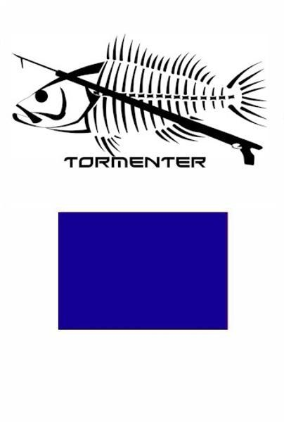 Grouper Royal Blue Performance Fishing Shirt SPF 50 - Tormenter Ocean Fishing Gear Apparel Boating SPF Surfing Watersports