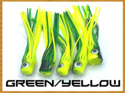 Softy Chain Daisy Chains & Multi Bait Rigs Tormenter Ocean Green/Yellow