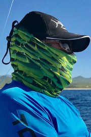Mahi Charge Neck Gaiter - Tormenter Ocean Fishing Gear Apparel Boating SPF Surfing Watersports