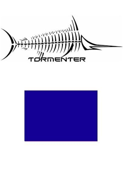 Marlin Royal Blue SPF50 Performance Shirt - Tormenter Ocean Fishing Gear Apparel Boating SPF Surfing Watersports