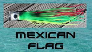 Mexican Flag - Big Mouth Trolling Lure - Tormenter Ocean Fishing Gear Apparel Boating SPF Surfing Watersports