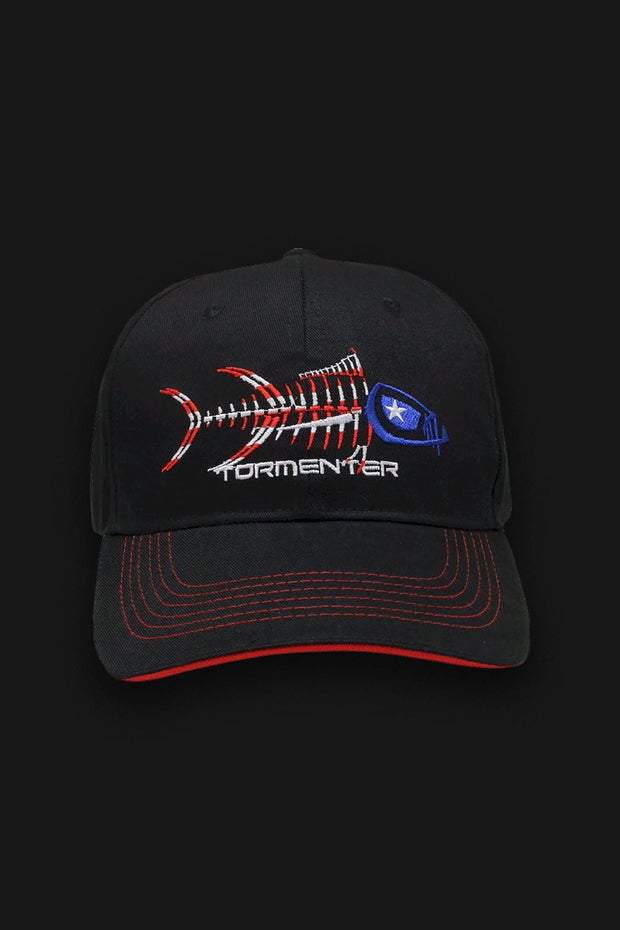 Patriot Baseball Hat - Tormenter Ocean Fishing Gear Apparel Boating SPF Surfing Watersports