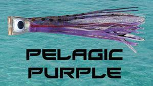 Pelagic Purple - Big Mouth Trolling Lure - Tormenter Ocean Fishing Gear Apparel Boating SPF Surfing Watersports