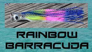 Rainbow Barracuda - Big Mouth Trolling Lure - Tormenter Ocean Fishing Gear Apparel Boating SPF Surfing Watersports