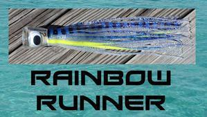Rainbow Runner - Big Mouth Trolling Lure - Tormenter Ocean Fishing Gear Apparel Boating SPF Surfing Watersports